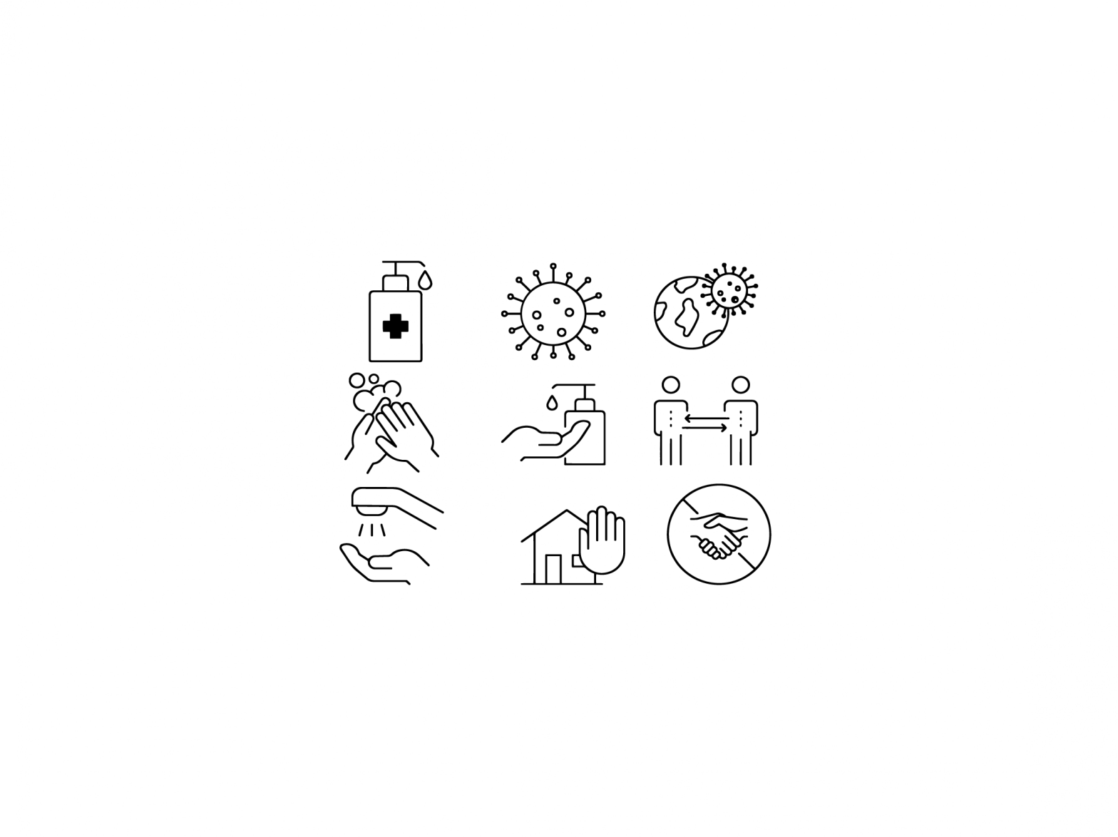 Corona-Symbolbild