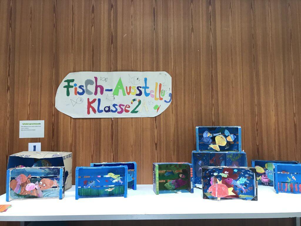 Fisch-Ausstellung Klasse 2