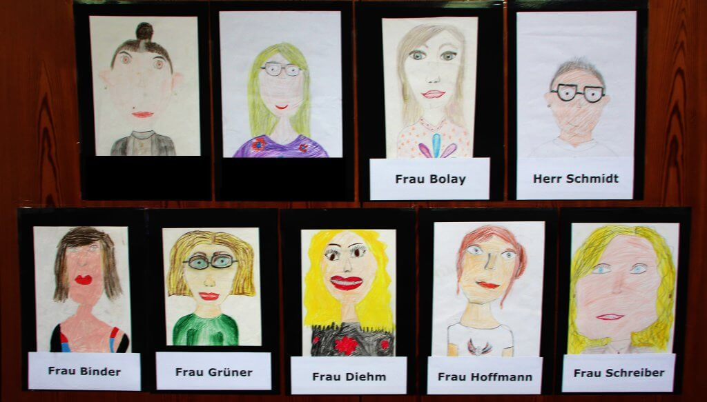 Portraits der Lehrer