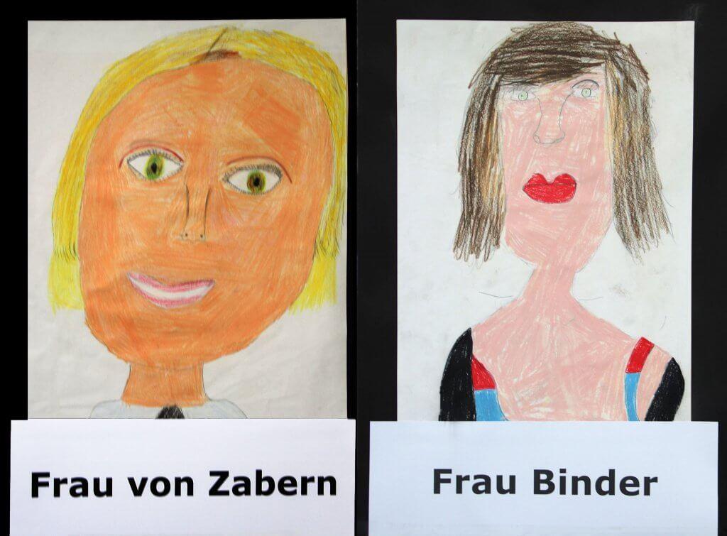 Schulleitung: Frau von Zabern und Frau Binder